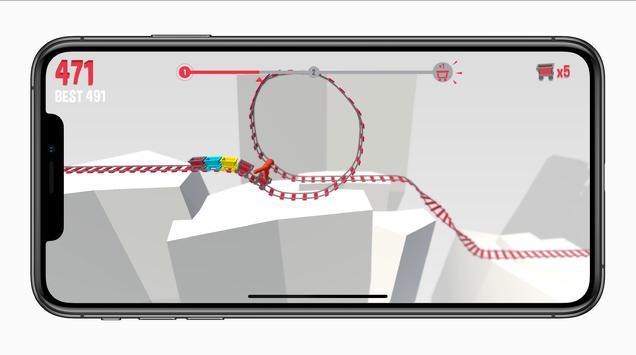 The Tiny Loops.io - craziest Roller Coaster Advice screenshot 2