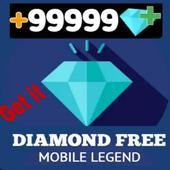 Diamond Mobile Legend Free Guide icon
