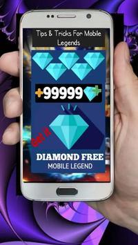 Diamond Mobile Legend Free Guide screenshot 1