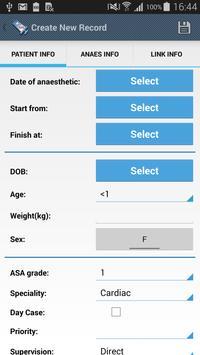 Anaesthesia Logbook-Log4ASLite Poster