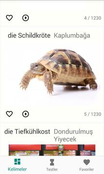 Almanca Kelime Ezber poster