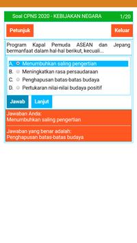 Soal CAT CPNS 2020 dan Kunci Jawaban Lengkap Screenshot 4