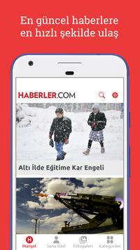 Haberler poster