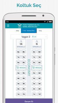TCDD Taşımacılık E-Bilet screenshot 4