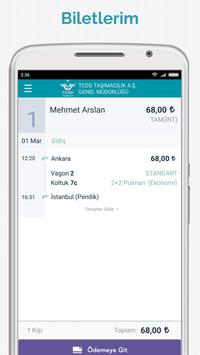 TCDD Taşımacılık E-Bilet screenshot 5