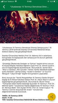 İstanbul Üniversitesi screenshot 3