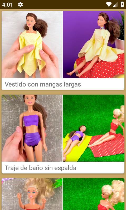 Como Hacer Ropa De Muñecas For Android Apk Download