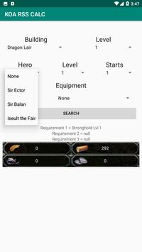 KOA RSS CALCULATOR screenshot 3