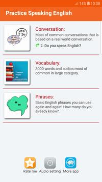 Practice Speaking English poster