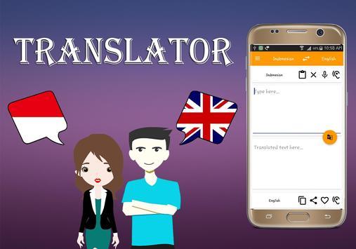 Indonesian To English Translator poster