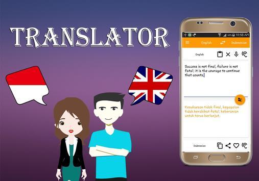 Indonesian To English Translator screenshot 1