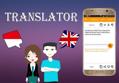 Indonesian To English Translator screenshot 2