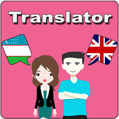 Uzbek To English Translator icon