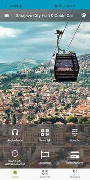 Sarajevo City Hall & Cable Car screenshot 1