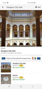 L'Hôtel de Ville de Sarajevo –audio-guide officiel capture d'écran 3