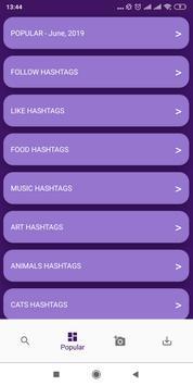 HashTags For Instagram screenshot 3