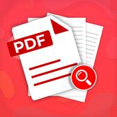 PDF Finder - PDF Downloader and Reader icon