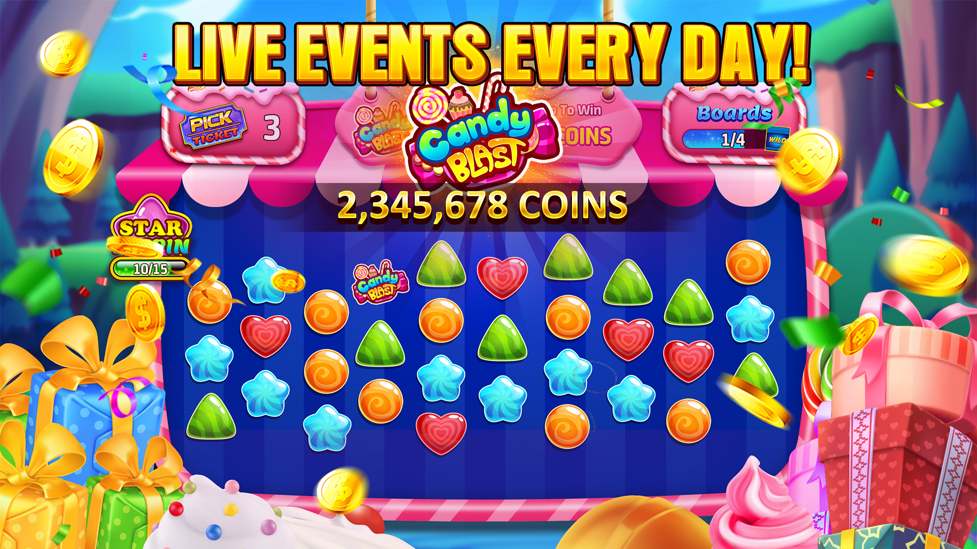 New free spins