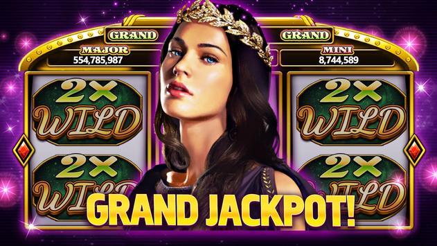 グランドジャックポットスロット - ラスベガスカジノ無料パチスロゲーム スクリーンショット 11