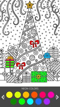 Christmas Coloring Book - Art Book Xmas Coloring screenshot 3