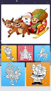 Christmas Coloring Book - Art Book Xmas Coloring poster