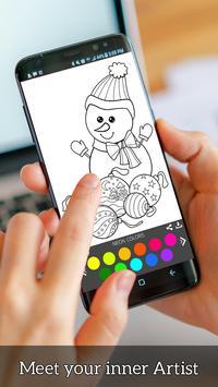 Christmas Coloring Book - Art Book Xmas Coloring screenshot 14