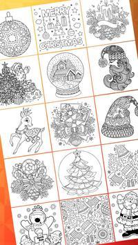 Christmas Coloring Book - Art Book Xmas Coloring screenshot 1