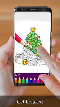 Christmas Coloring Book - Art Book Xmas Coloring screenshot 7