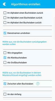 Passwort Generator screenshot 3