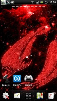 pisces live wallpaper screenshot 2