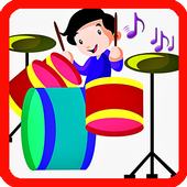 Learn to play the drums online icon