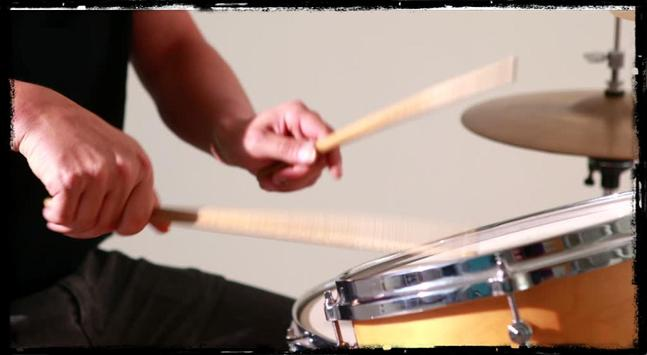 Learn to play the drums online poster