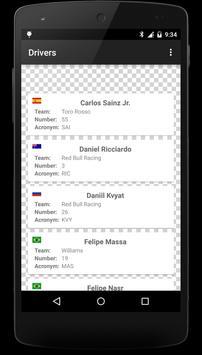 Formula Race Calendar screenshot 5