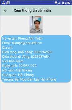 Thông Tin Nhân Sự HPU screenshot 3