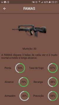 Guia Free Fire Armas & Personagens screenshot 5