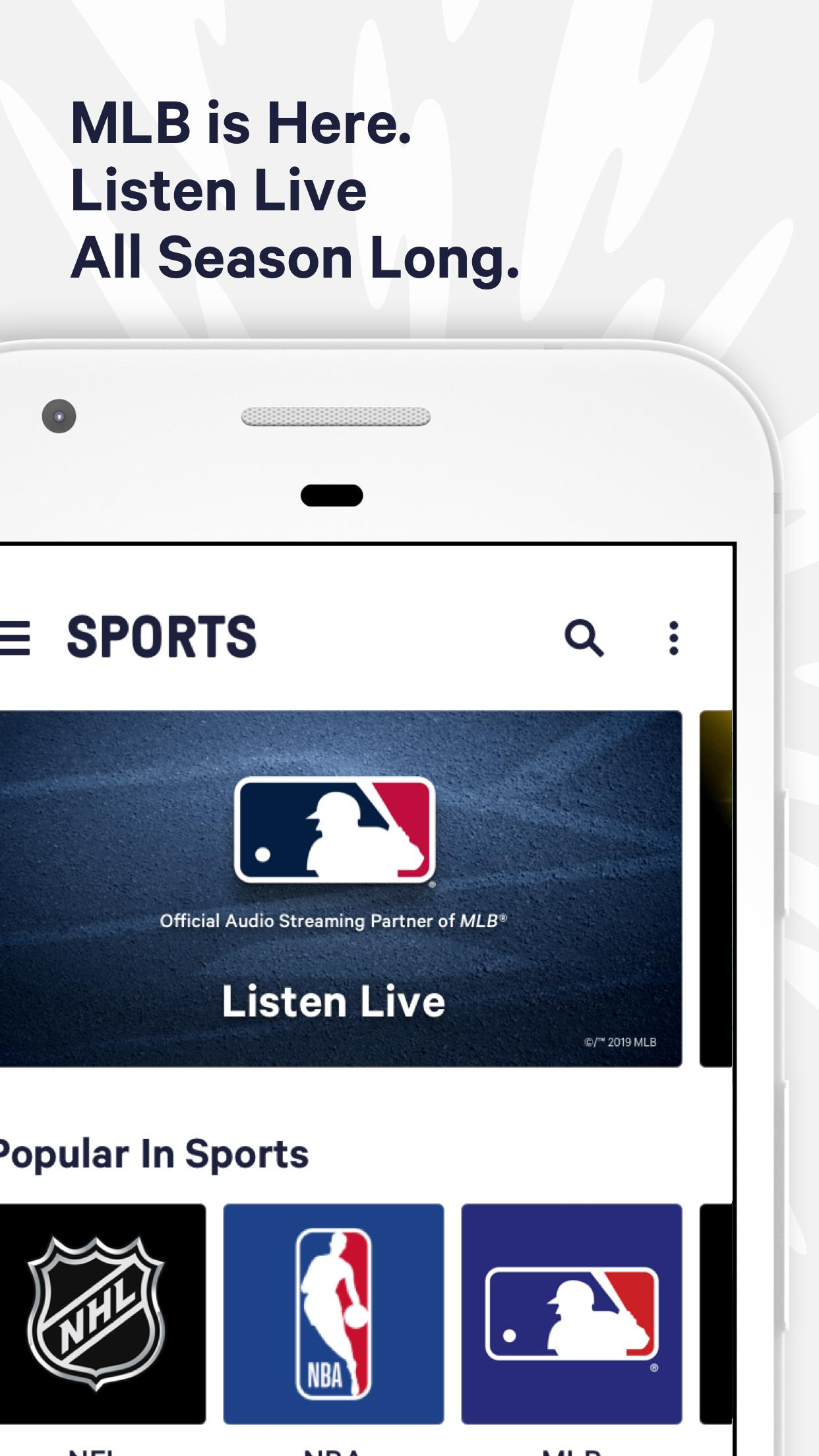 TuneIn - NFL Radio, Free Music, Sports & Podcasts for