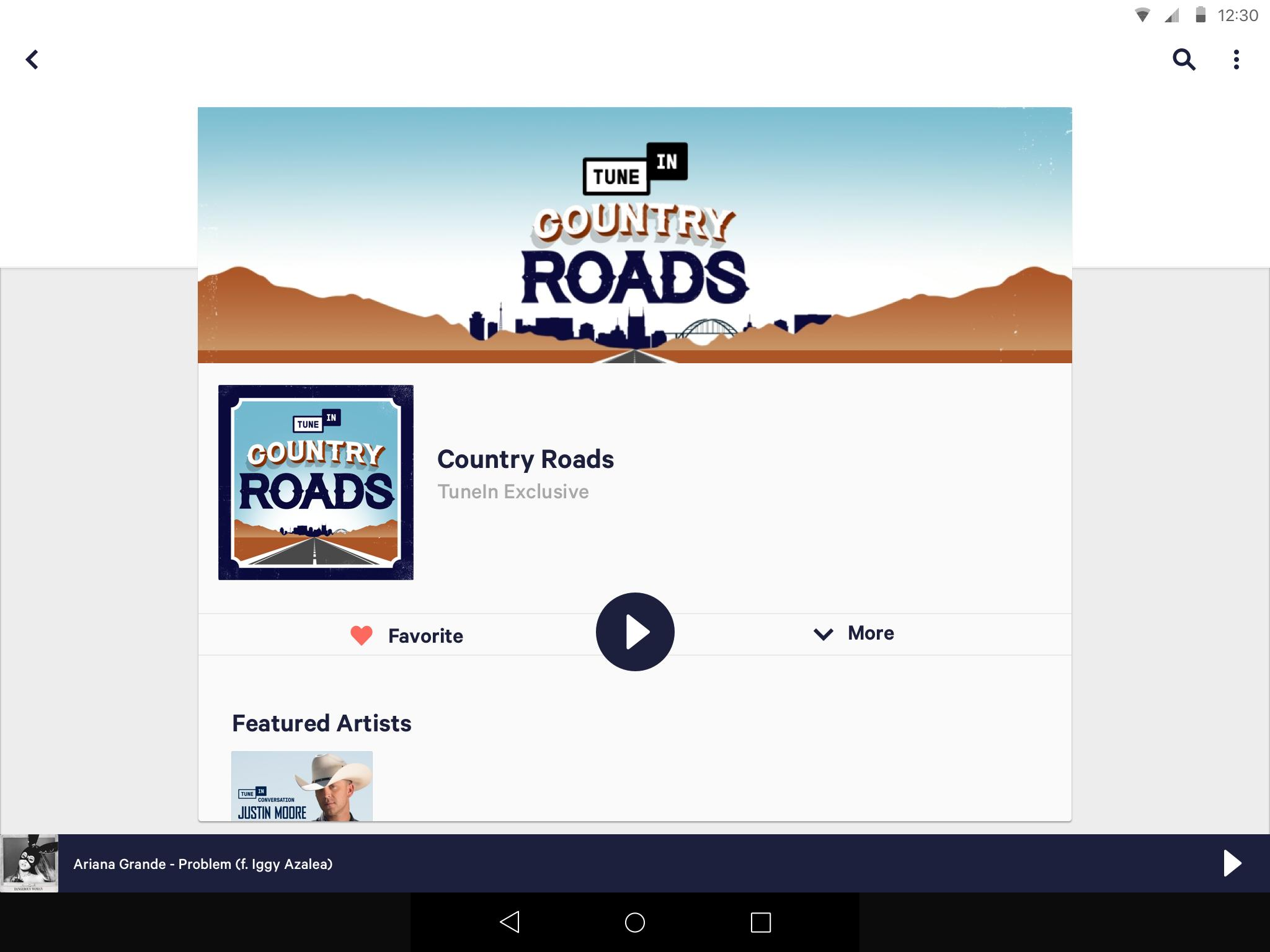 tunein free download for android