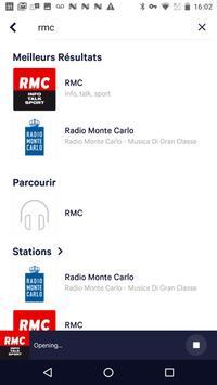 TuneIn Radio capture d'écran 1