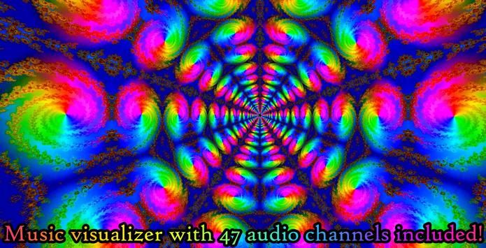 Morphing Tunnels- Trance & chill out visualizer for Android