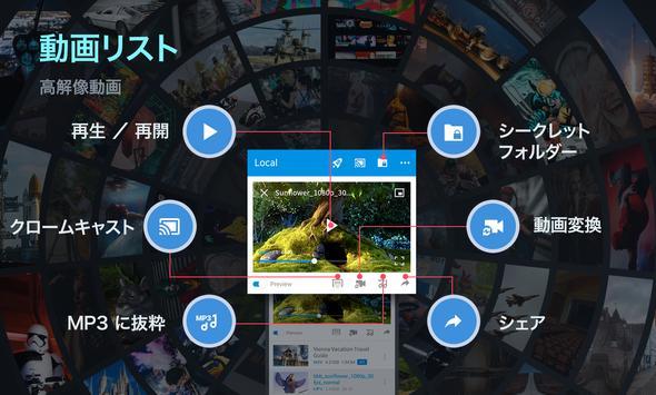 FX Player - ビデオプレーヤー、コンバーター、クロームキャスト スクリーンショット 2