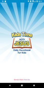 Kids Time with Jesus पोस्टर