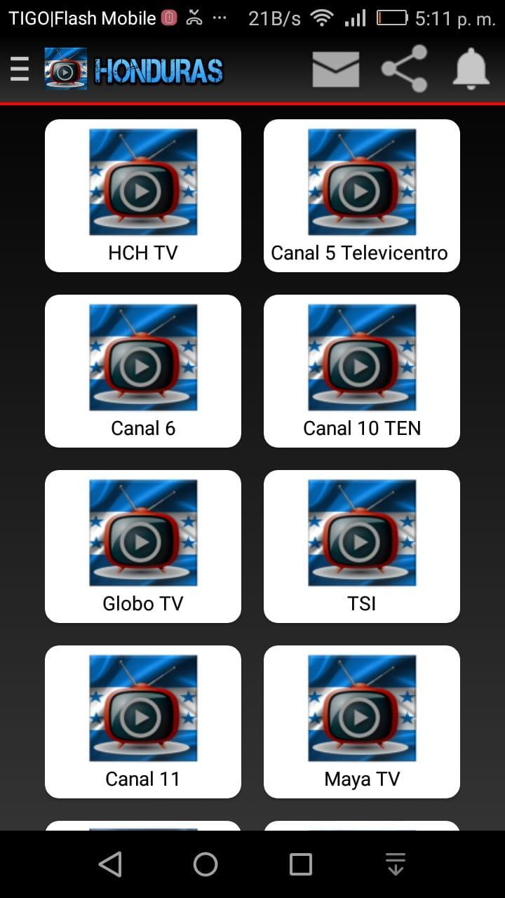 Tv Honduras Online for Android - APK Download