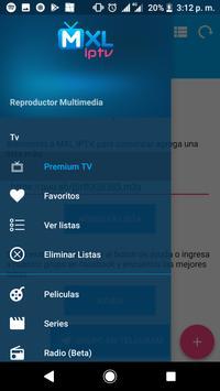 MXL TV captura de pantalla 3