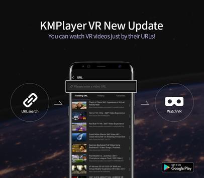 KM Player VR – 360 degree, VR(Virtual Reality) poster