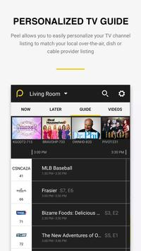 Peel Universal Smart TV Remote Control screenshot 4