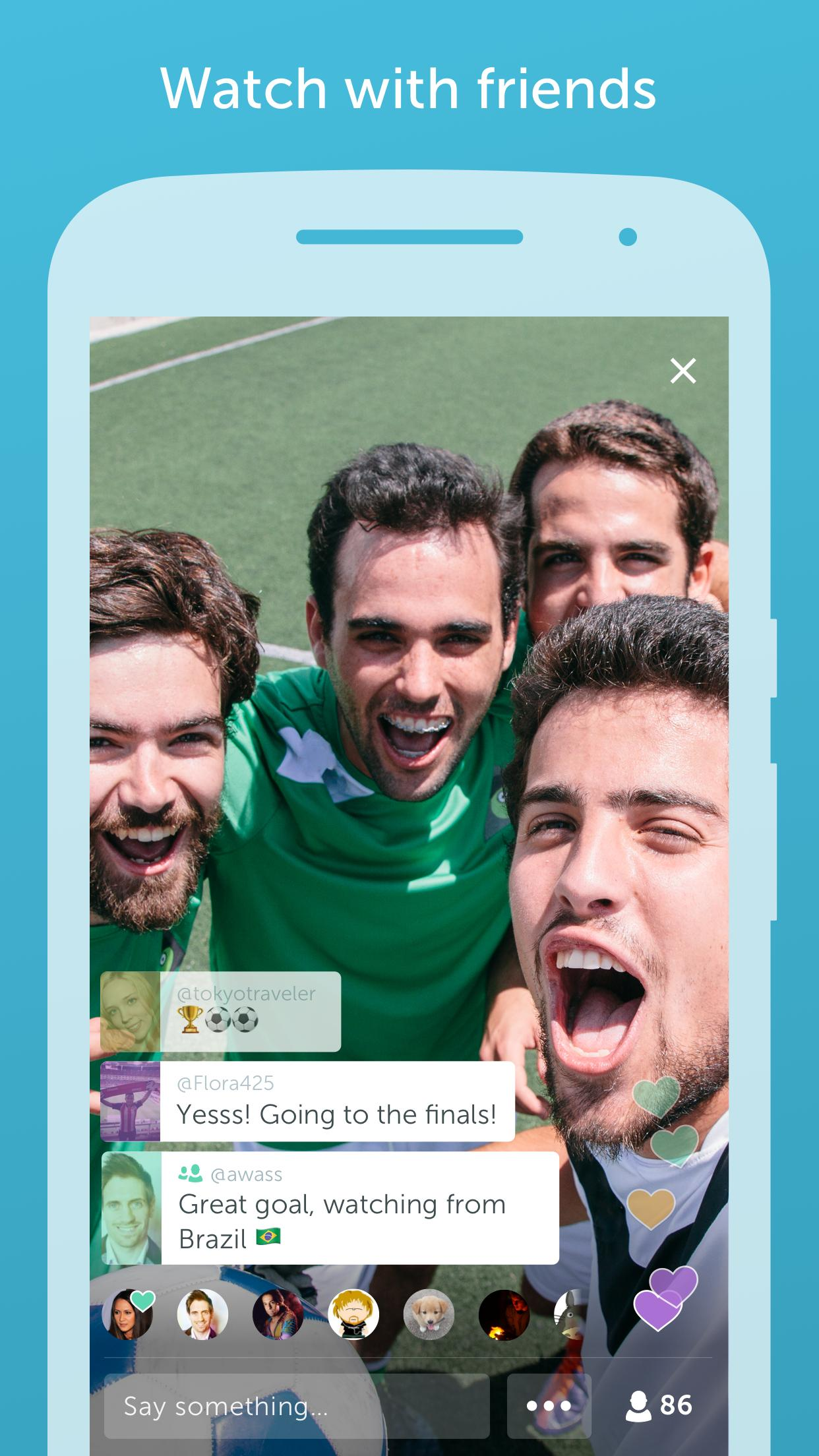 Periscope download app for Android - eenternet