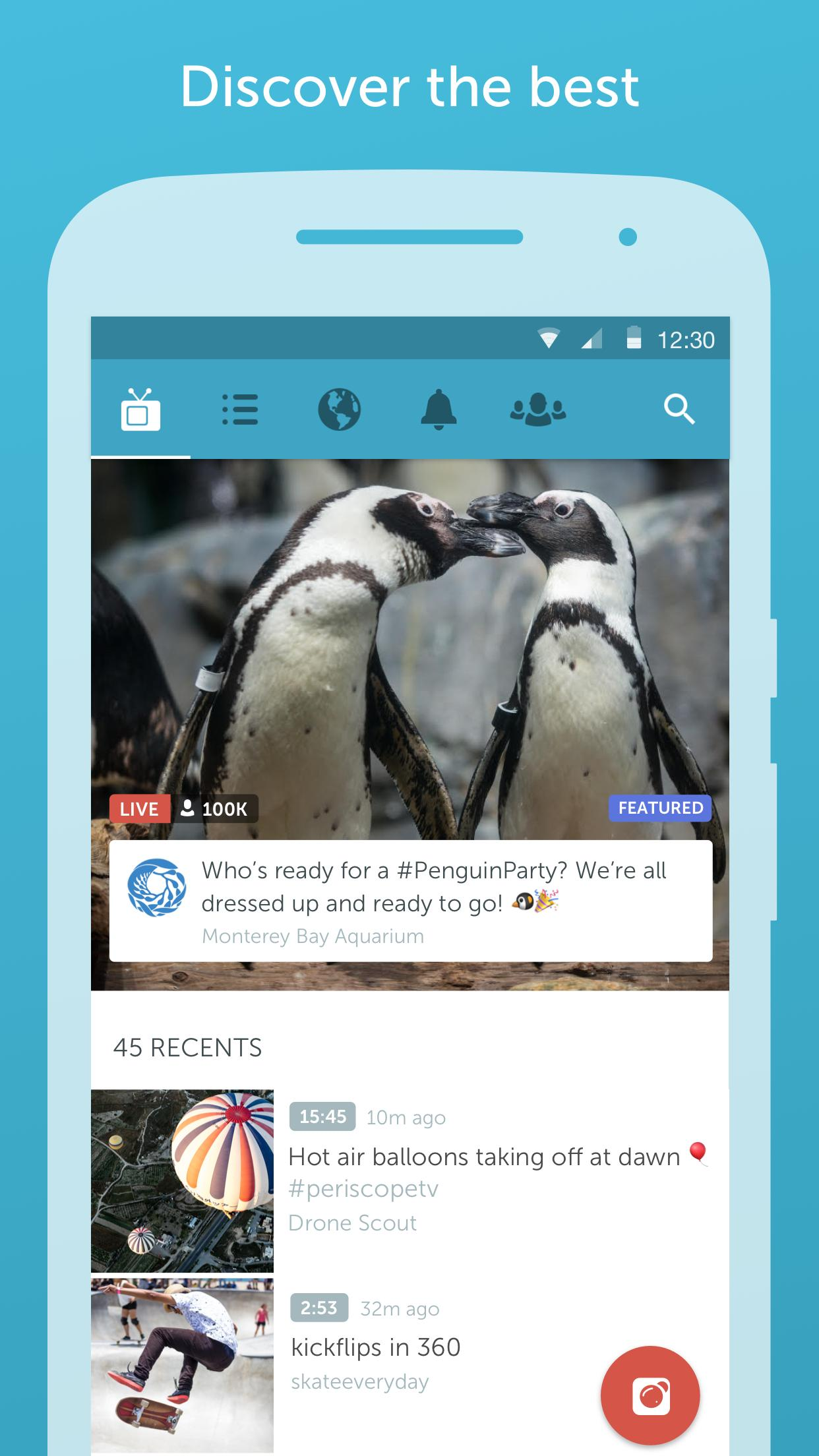 Periscope app for Android download 2019