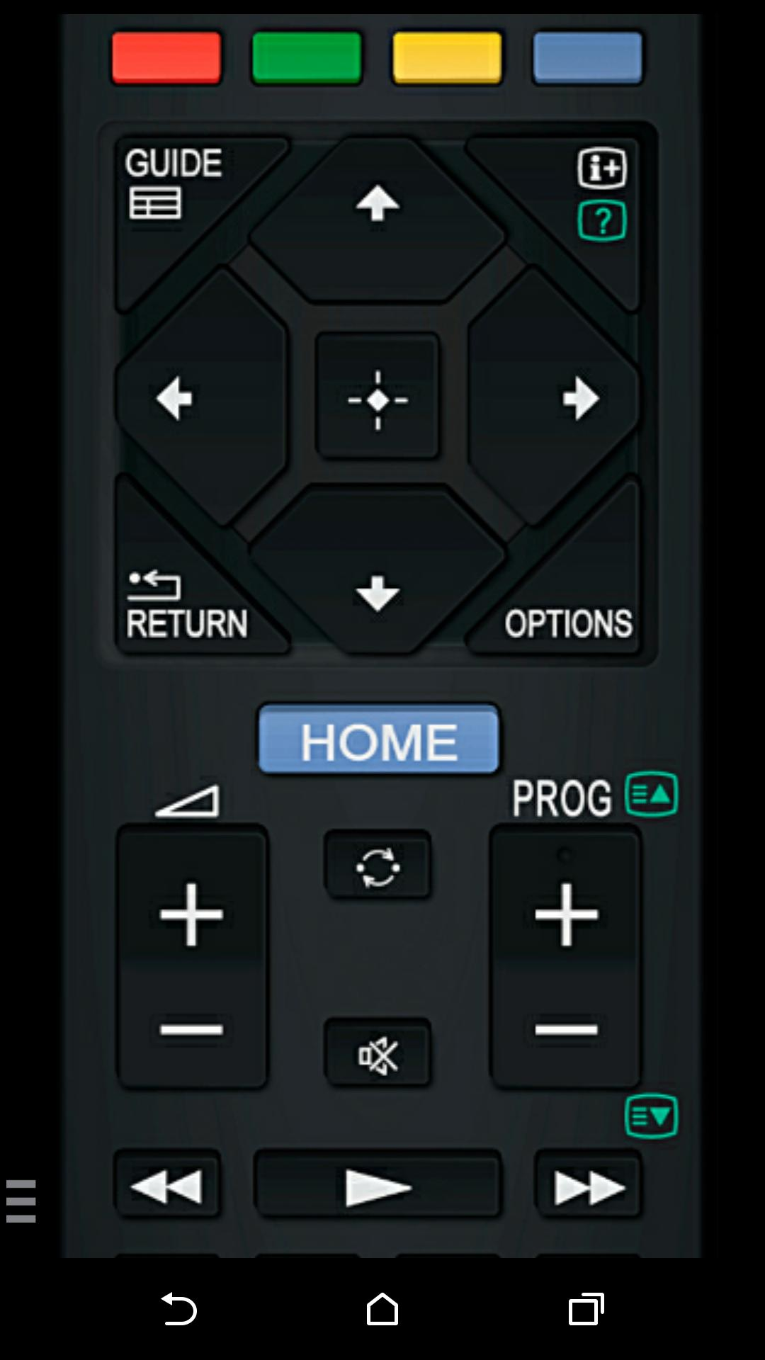 TV Remote for Sony TV (WiFi & IR remote control) for Android