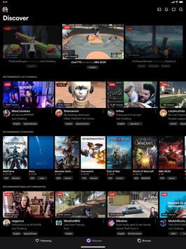 Twitch capture d'écran 9