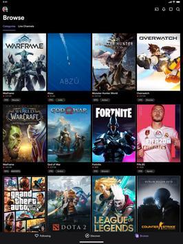 Twitch capture d'écran 8
